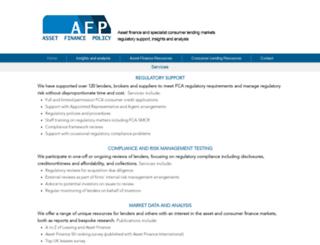assetfinancepolicy.co.uk screenshot