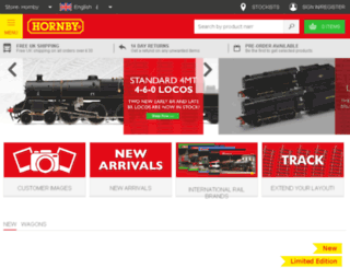 assets.hornby.com screenshot