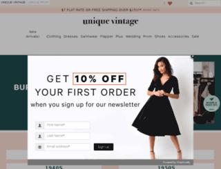 assets.unique-vintage.com screenshot
