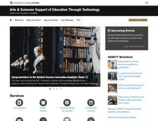assett.colorado.edu screenshot