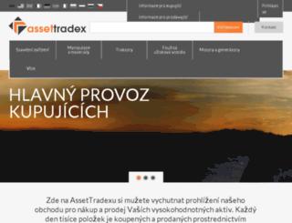 assettradex.cz screenshot