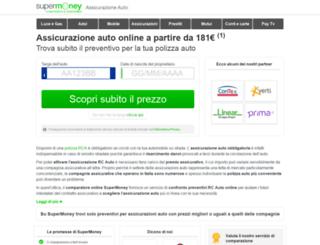 assicurazione-auto.supermoney.eu screenshot