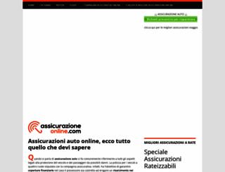 assicurazioneonline.com screenshot
