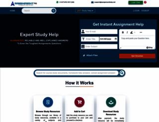 assignmenthelp.net screenshot