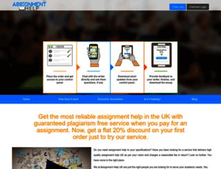 assignmenthelpuk.com screenshot