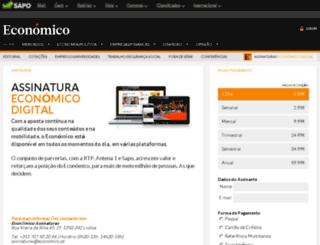 assinaturas.economico.pt screenshot