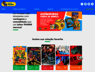 assinepanini.com.br screenshot