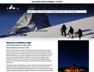 assiniboinelodge.com screenshot