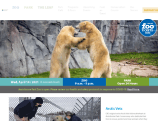 assiniboineparkzoo.ca screenshot