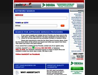 assist247.co.za screenshot