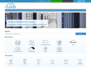 assistance.arubacloud.es screenshot