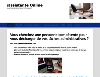 assistante-online.fr screenshot