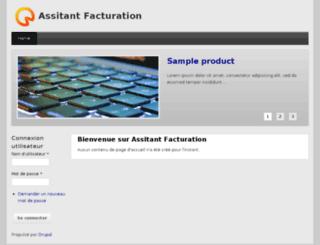 assistantfacturation.com screenshot