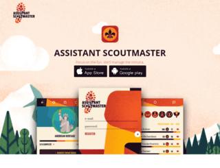 assistantscoutmaster.com screenshot
