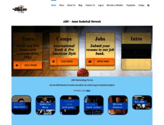 assistbasketballnetwork.com screenshot