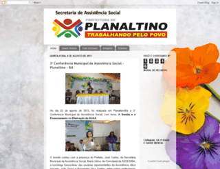 assistenciaplanaltino.blogspot.com.br screenshot
