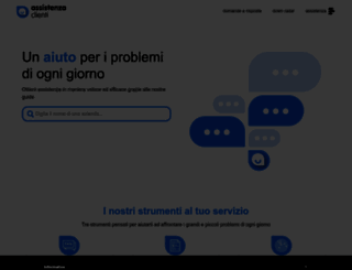 assistenza-clienti.it screenshot