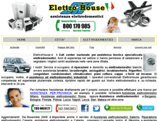 assistenza-elettrodomestico.com screenshot