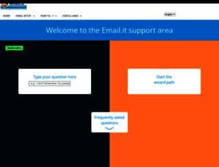 assistenza.email.it screenshot