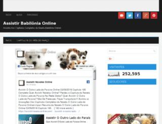 assistirbabiloniaonline.blogspot.com.br screenshot