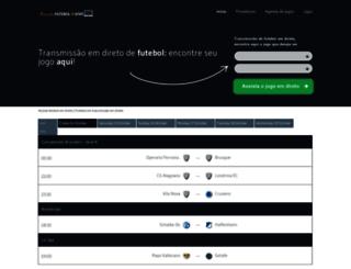 assistirfutebolaovivo.com.br screenshot