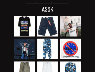 assk.bigcartel.com screenshot