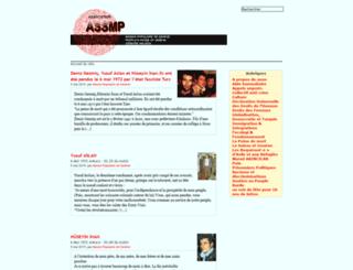 assmp.org screenshot