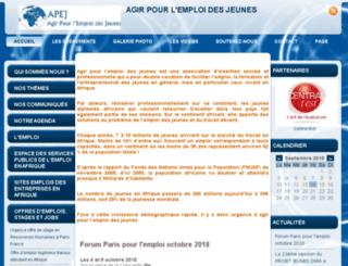 asso-apej.org screenshot