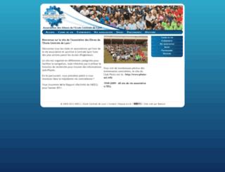 assoce.ec-lyon.fr screenshot