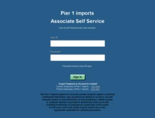 associate.pier1.com screenshot
