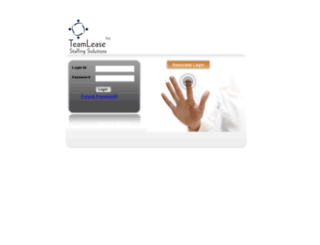 associate.teamlease.com screenshot