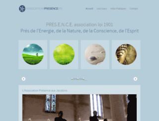 association-presence.fr screenshot