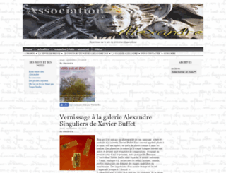 associationalexandre.com screenshot