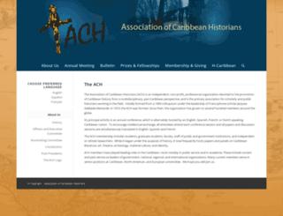 associationofcaribbeanhistorians.org screenshot