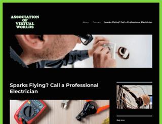 associationofvirtualworlds.com screenshot