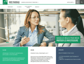 associations.bnpparibas.fr screenshot