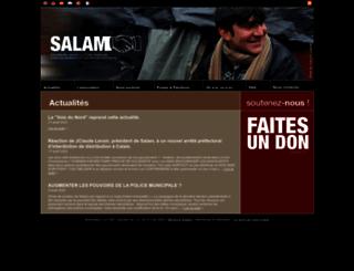 associationsalam.org screenshot
