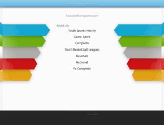 associationspore.com screenshot
