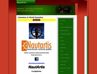associazionenautartis.it screenshot