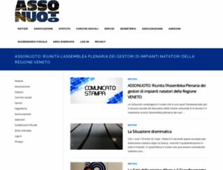 assonuoto.com screenshot