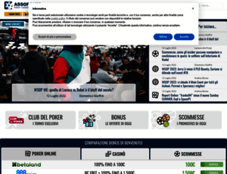assopoker.com screenshot
