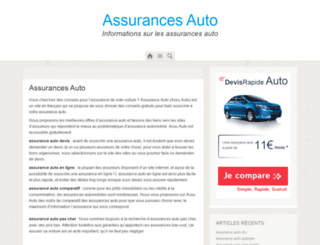assu-auto.fr screenshot