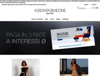 assuntasimeone.com screenshot