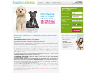 assurance-animaux.fr screenshot