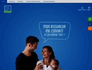 assurance-mutuelle-poitiers.fr screenshot