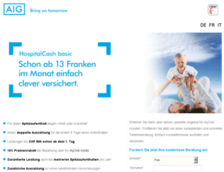 assurancecomplementaire-accidents.ch screenshot
