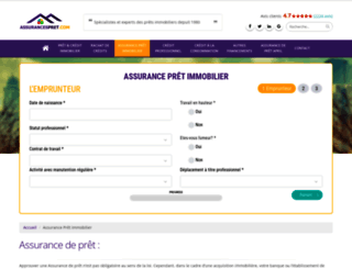 assurancespret.com screenshot