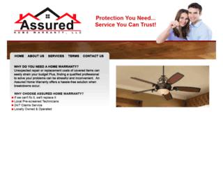 assuredhomewarranty.com screenshot