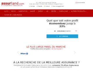 assurland.cabestan.com screenshot