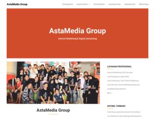 astamediagroup.com screenshot